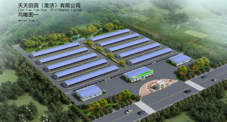 Chinese Company Invests in Piggery and Resort