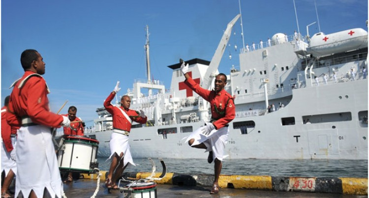 Chinese Navy Hospital Ship in Suva