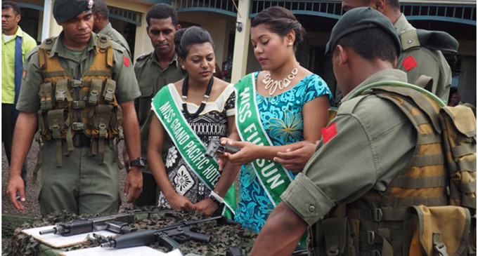 Contestants visit the RFMF