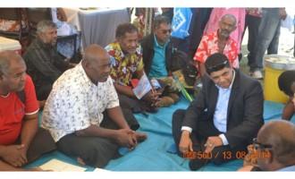 Crowd Calls PM A Hero They praise him in Labasa despite absence