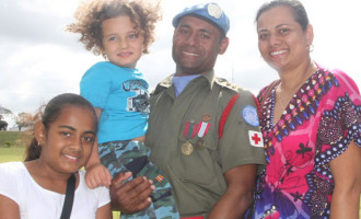 Golan Men Receive Medals
