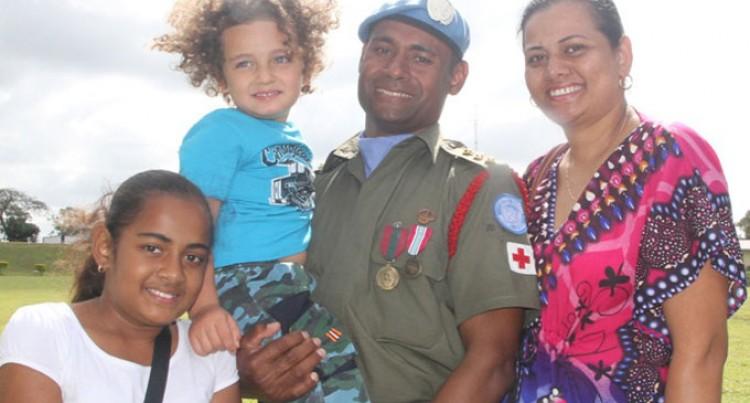 Golan Men Receive Medals