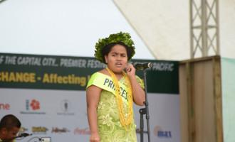 Hannah is Princess Niue, 10-year-old eyes medical profession