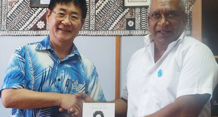 Korean singer wants to help Fijians