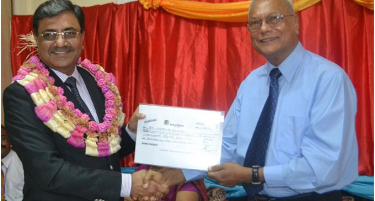 Labasa school receives $129K from Indian Government