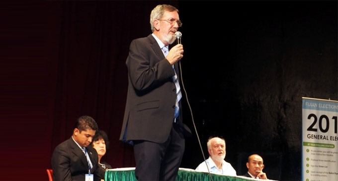 Ballot papers secure: Clancy