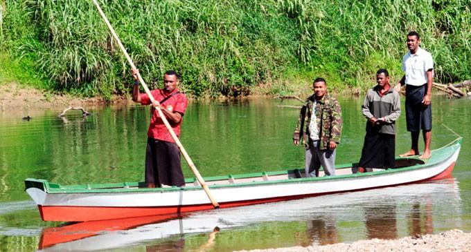 Naitasiri village  thankful for boat