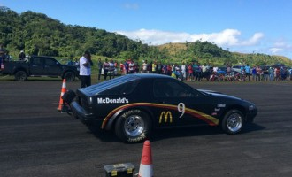 Nand Sets Race Record