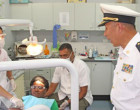 Naval Vessel Provide Free Medical Service