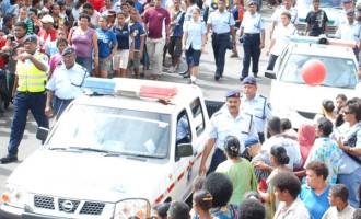 Police keep eyes on weekend movements