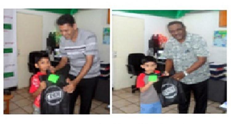 Staff Celebrate With Children