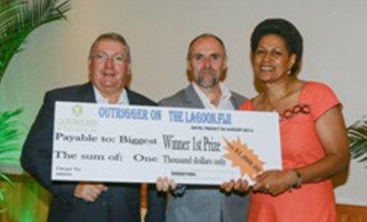Turaga Scoops 'Biggest Winner' Prize: The female engineering administrator lost an amazing 18 kilograms