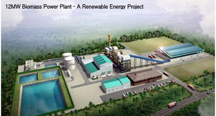 US$35m investment in Biomass Power Plant