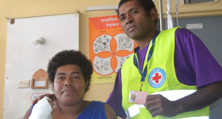 Volunteer to rescue, praises Red Cross