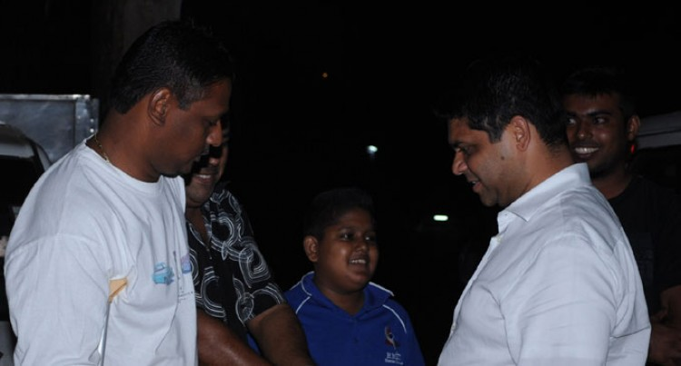 Sayed-Khaiyum Hears Support For Manifesto