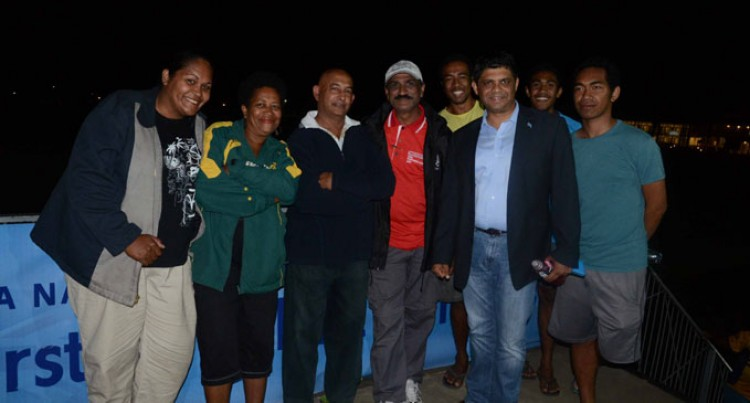 FijiFirst Gather At Albert Park