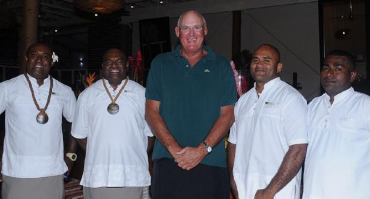 Andy Haden Eyes Fijians