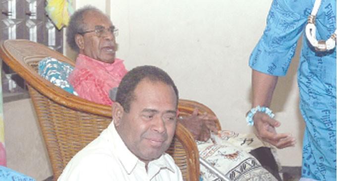 Tora At FijiFirst Rally