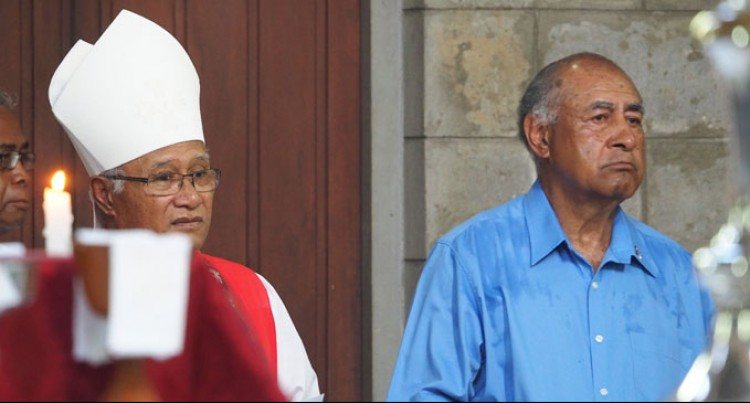 President Joins Anglicans