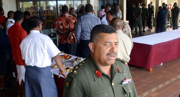 RFMF Head Hosts Former Senior Officers Now In Politics