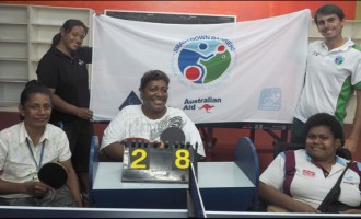 Fiji Table Tennis Association Smashes Down Barriers
