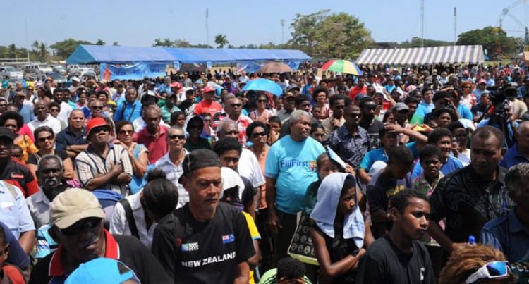 Big Crowd For FijiFirst