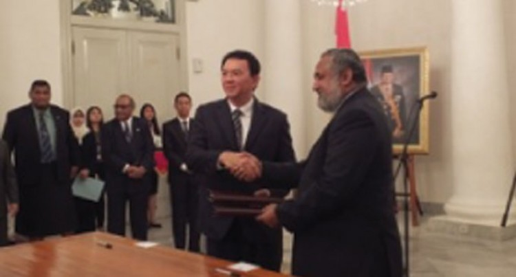 NFA Signs MOU With Jakarta Fire