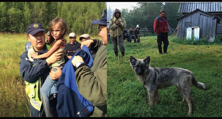 Girl Survived For 12 Days In Remote Forest With Only A Dog Company