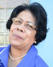 FLP president Lavinia Padarath
