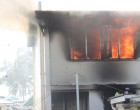 Fire At Police Barracks