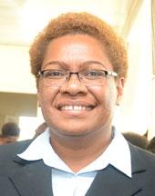 Minister for Lands Mereseini Vuniwaqa