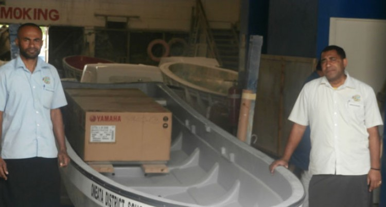 New Boat For Oneata District School