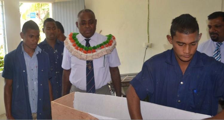 Coffin Box Workshop Opens In Labasa School