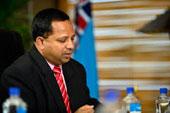 Fijian Holdings Group CEO, Nouzab Fareed.