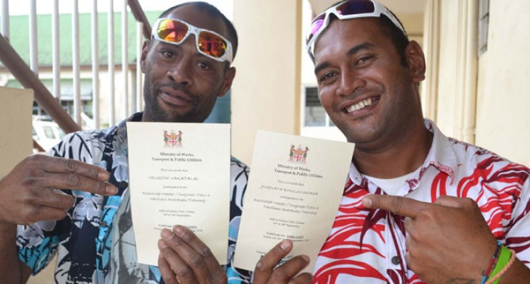 Boat Operators Awarded