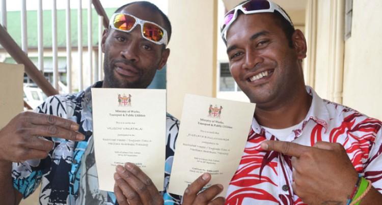 Boat Operators Awarded