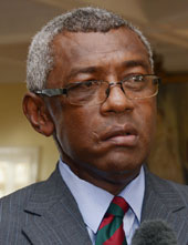 Minister for Infrastructure and Transport Pio Tikoduadua