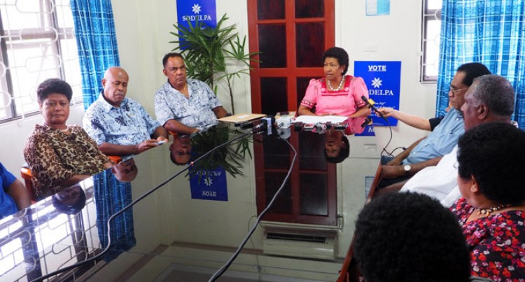SODELPA: We'll Take Claims Parliament