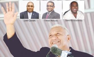 Seamen Back Bainimarama