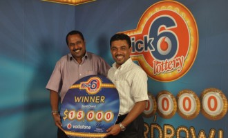 Vodafone's First PICK 6 Lotto Winners Get $15k Each
