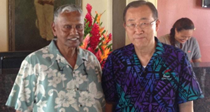 Fijian-Owned Hotel Hosts UN's Ban Ki-moon