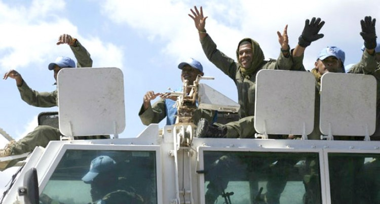 Peacekeepers Stick To UN Mandate