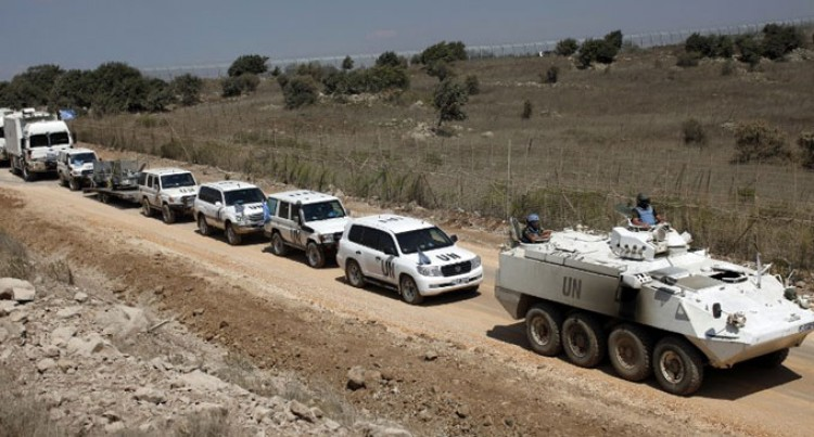 UN Evacuates All Troops From Golan As Syria Fighting Worsens