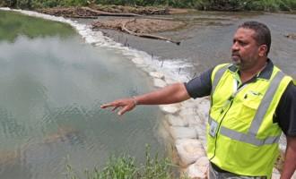 Central, North Dams Hit Hard