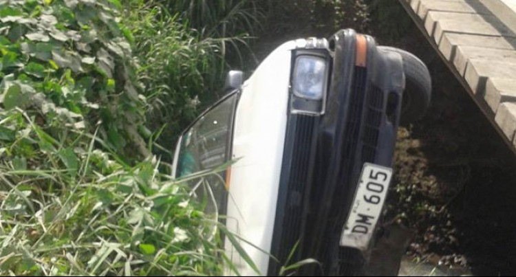 Road Accident Lands 3 In Hospital