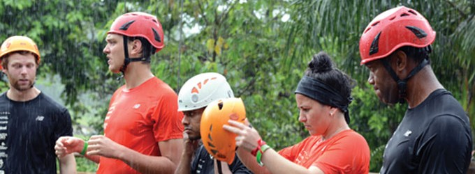 Accor Hotels Staff Compete In Kila Eco Park