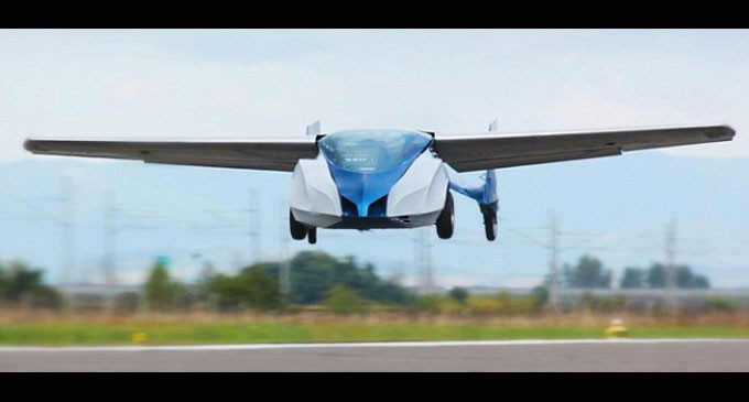Flying Car Becoming A Reality?