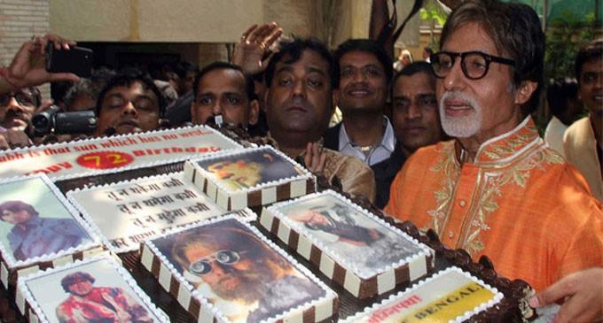 Big B Celebrates His 72nd Birthday