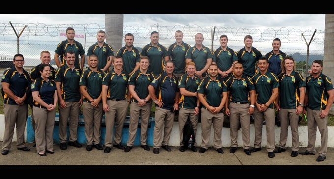Australian University Team Tours Fiji