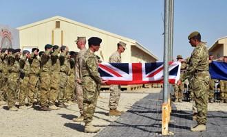 US Marines, British Forces End  Afghan Operations, Prepare Withdrawal